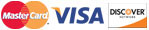 Essig Printing accepts Master Card, Visa and Discover